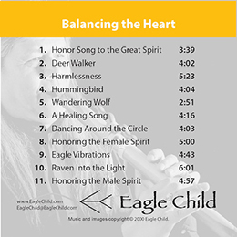 Balancing the Heart by Eagle Child