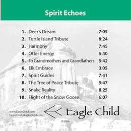 Spirit Echoes by Eagle Child and Rob Wallace