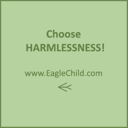 Choose Harmlessness by Eagle Child